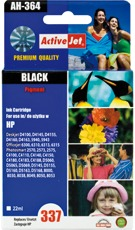 Inkoust ActiveJet AH-364   Black   25 ml   Refill   HP C9364EE