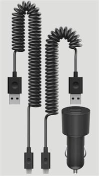 Nokia dvojitá USB nabíječka do auta Nokia DC-20, nové balení (2x micro USB)