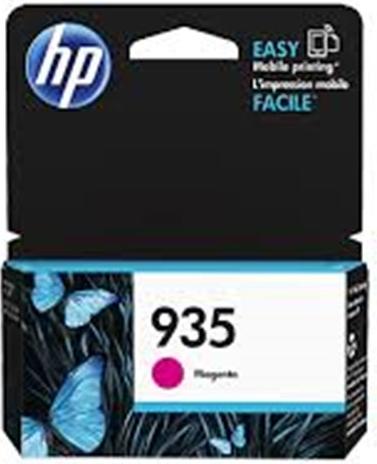 HP C2P21AE Ink Cart No.935 pro OJ Pro 6830, 400str., Magenta