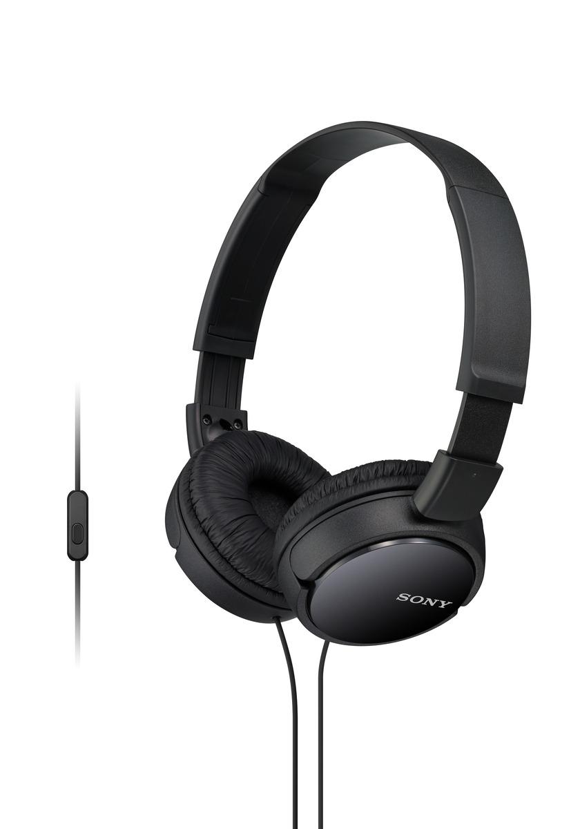 SONY MDR-ZX110AP Uzavřená sluchátka na uši - Black