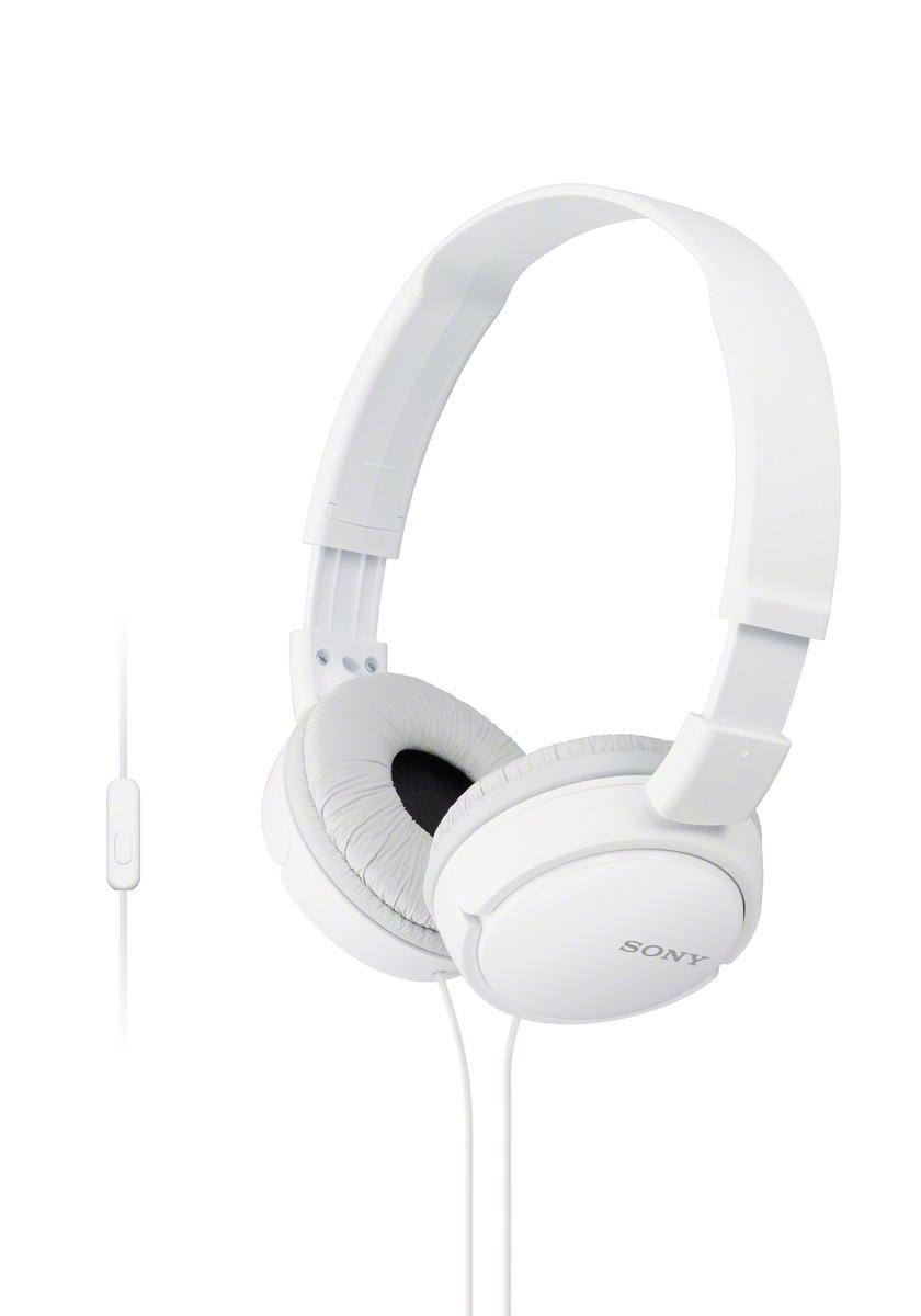 SONY MDR-ZX110AP Uzavřená sluchátka na uši - White
