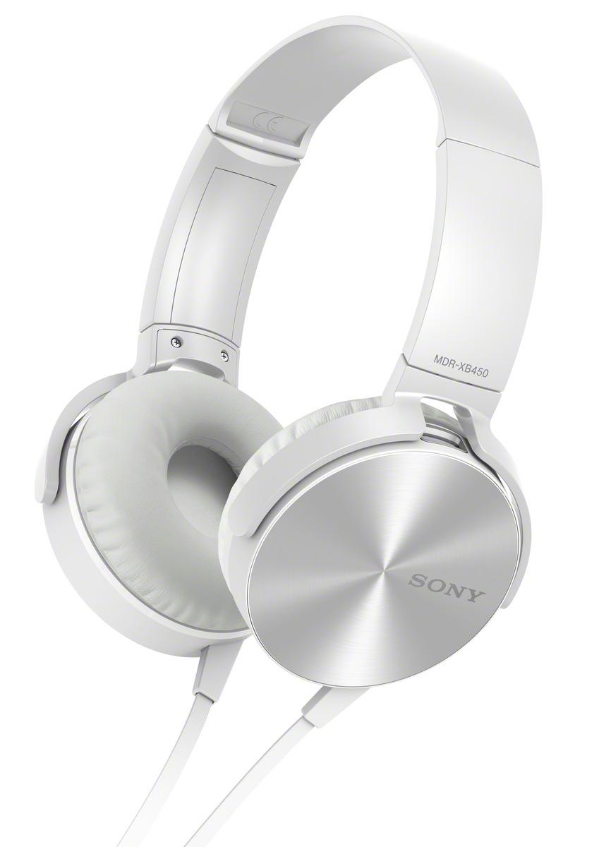 SONY MDR-XB450AP Sluchátka EXTRA BASS - White