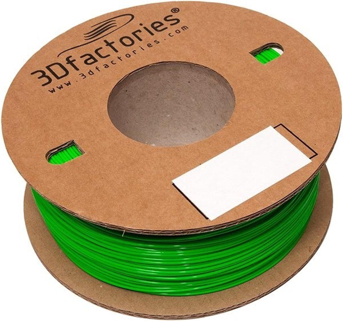 3D Factories tisková struna ABS 1,75 mm 5m zelená