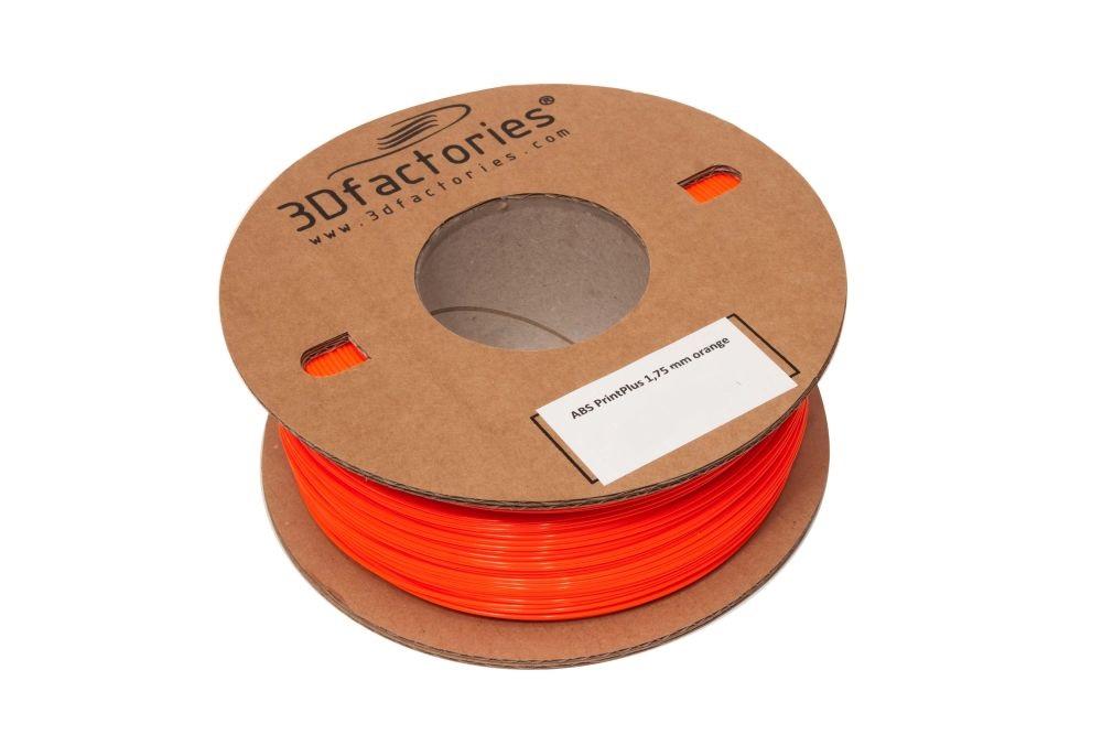 3D Factories tisková struna ABS 1,75 mm 5m oranž