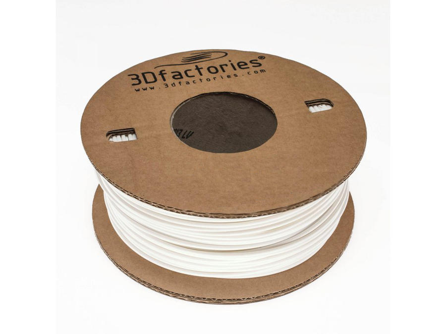 3D Factories tisková struna ABS 1,75 mm 5 m bílá