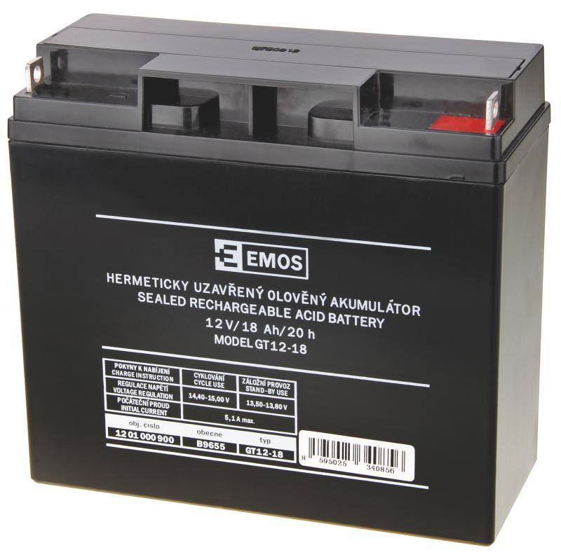 Emos baterie SLA 12V / 18 Ah