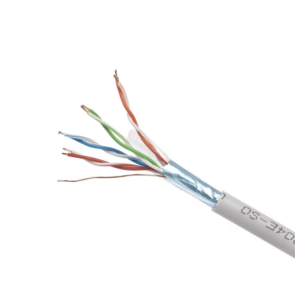 GEMBIRD kabel FTP drát CCA c5e 305m FPC-5004E-SOL