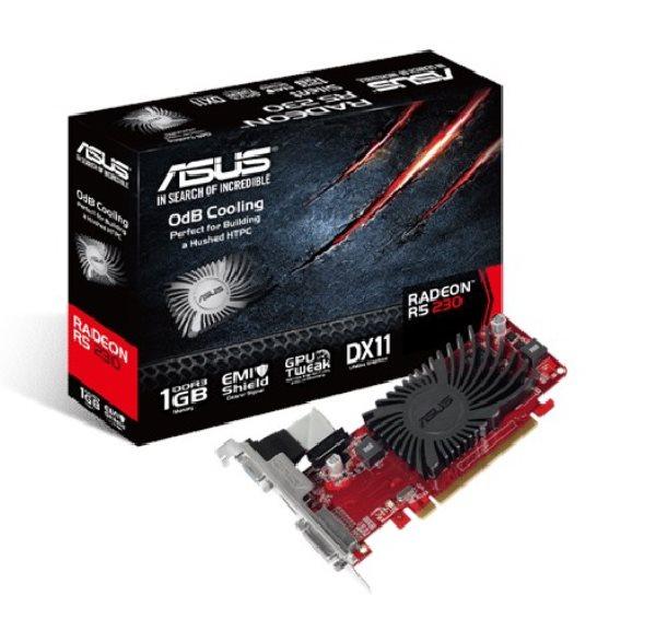 ASUS R5230-SL-1GD3-L 1GB DDR3 (64 bit) ,HDMI, DVI