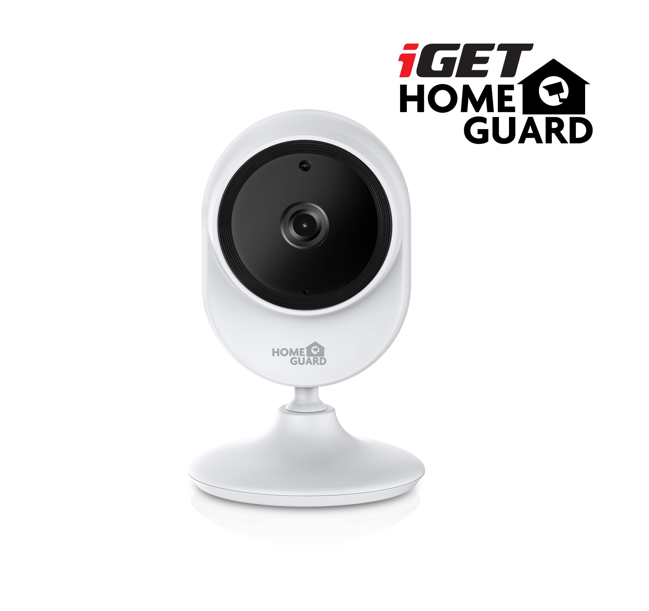 iGET HGWIP815 - bezdrát. IP FullHD 1080p kamera, úhel 145°, FTP, Email, WiFi, noční vidění,microSD