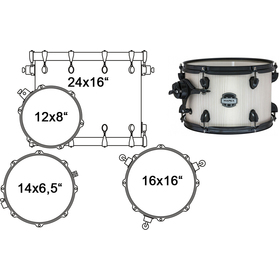 MA446SBAW DRUM SET MAPEX