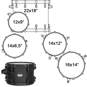 MA528SFBZW DRUM SET MAPEX