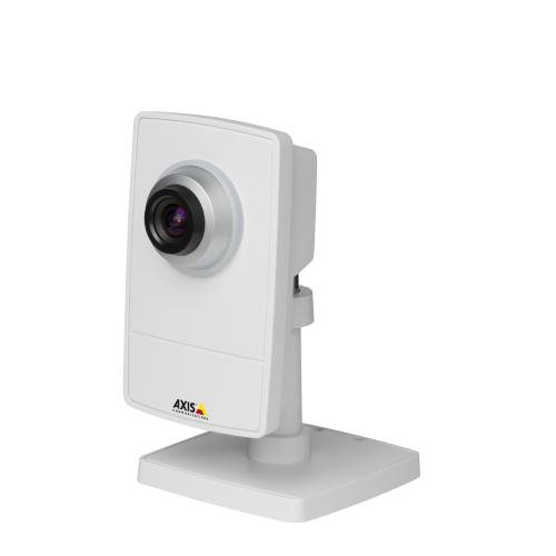 AXIS M1004-W, 2.8 mm Fixed lens, WiFi, PIR sensor, illumination LED, HDTV 720p / 1MP