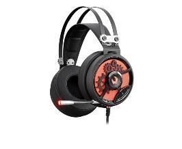 Sluchátka A4-Tech Bloody M660 Black+Red USB