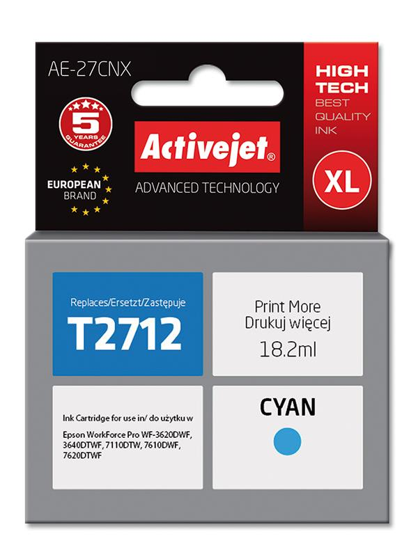 ActiveJet ink Epson T2712 new AE-27CNX 18 ml