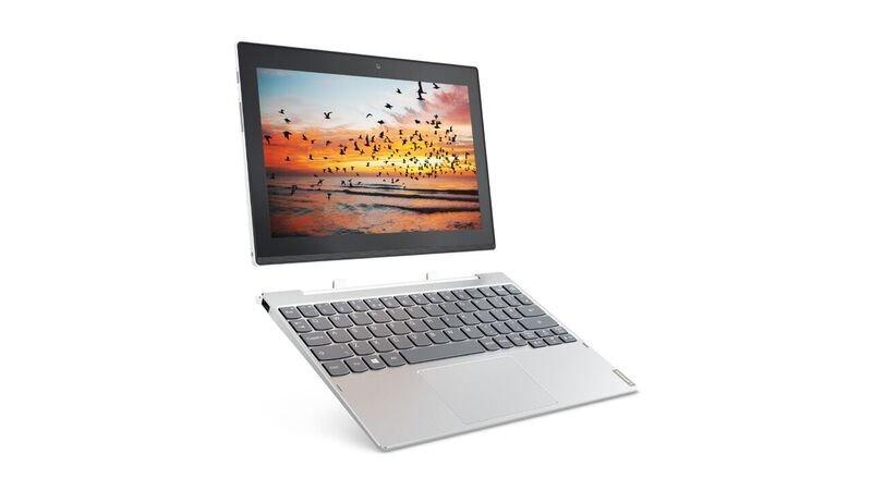"""Lenovo MiiX 320 Atom x5-Z8350 1,92GHz/4GB/128GB/10,1"""" FHD/IPS/multitouch/LTE/KBRDdock/WIN10 PRO stříbrná 80XF008SCK"""