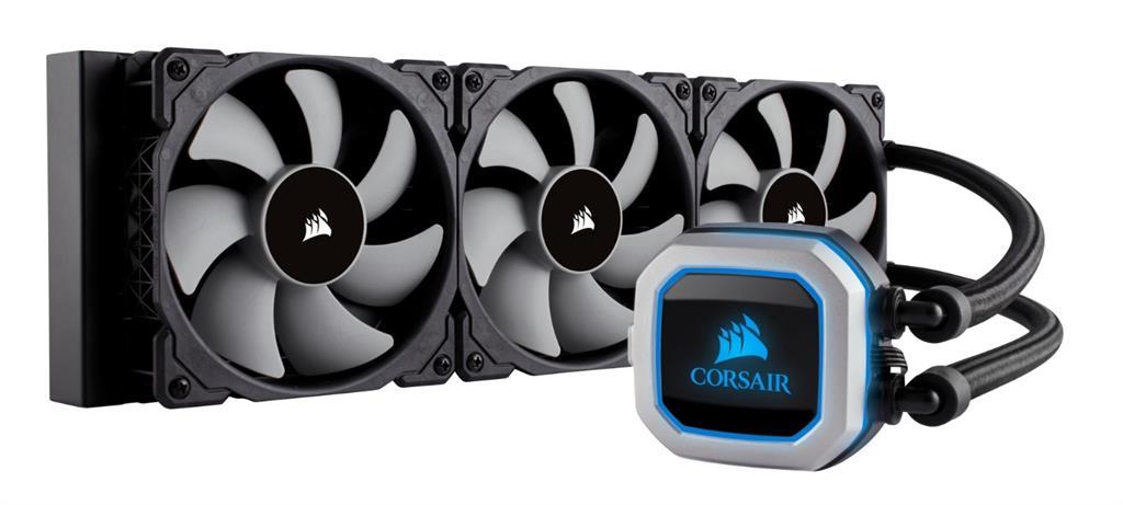 Corsair bezúdržbové vodní chlazení CPU Hyrdo Series H150i Pro RGB, 3x120mm vent.