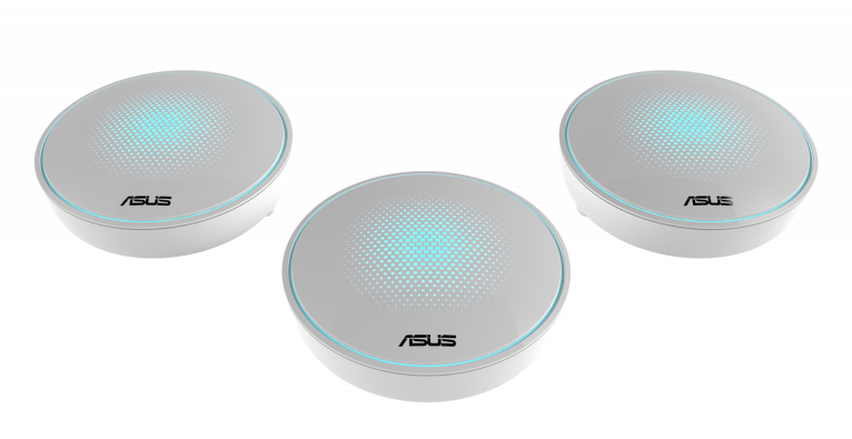 Asus MAP-AC2200 (LYRA) Complete Home Wi-Fi Mesh System Wireless-AC2200 3-pack