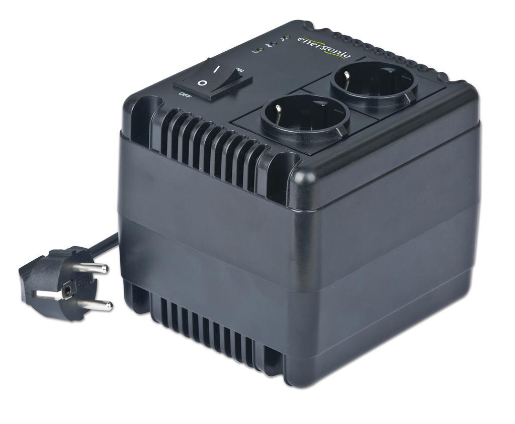 Energenie automatický regulátor a stabilizátor napětí, LED, 230V AC, 1000 VA