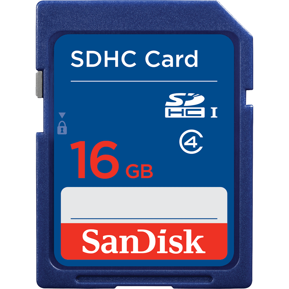 SanDisk SDHC karta 16GB