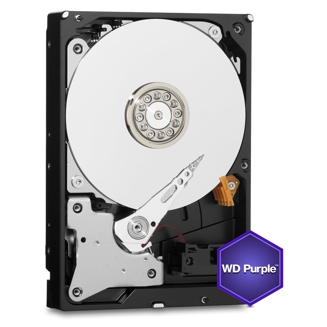 WD PURPLE WD121PURZ 12TB SATA/600 256MB cache, Low Noise