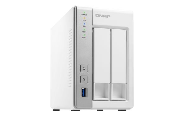 QNAP TS-231 Turbo NAS server, 1,2 GHz DC/512MB/2x HDD/2xGL/USB 3.0/Raid 0,1/iSCSI