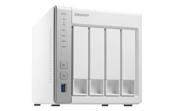 QNAP TS-431 Turbo NAS Server, 1,2 GHz DC/512MB DDR3/4x HDD/2xGL/USB 3.0/R0,1,5,6/iSCSI