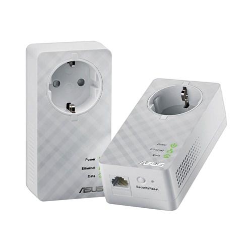 ASUS PL-E52P Duo (2pcs) Home Plug AV 600Mbps Powerline Adapter