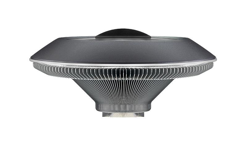 chladič Cooler Master MasterAir G100L, bílé LED, 68 mm nízký profil