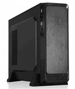 Eurocase MC M08 micro ATX, mATX, bez zdroje, 2x USB2.0, černá