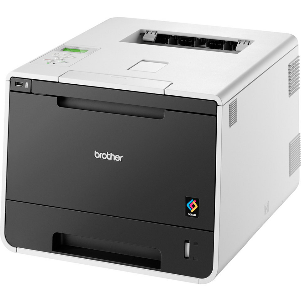 BROTHER tiskárna color laserová HLL-8250CDN - A4, 28ppm, 2400x600, 128MB, duplex, PCL6, USB 2.0, LAN, 250listů
