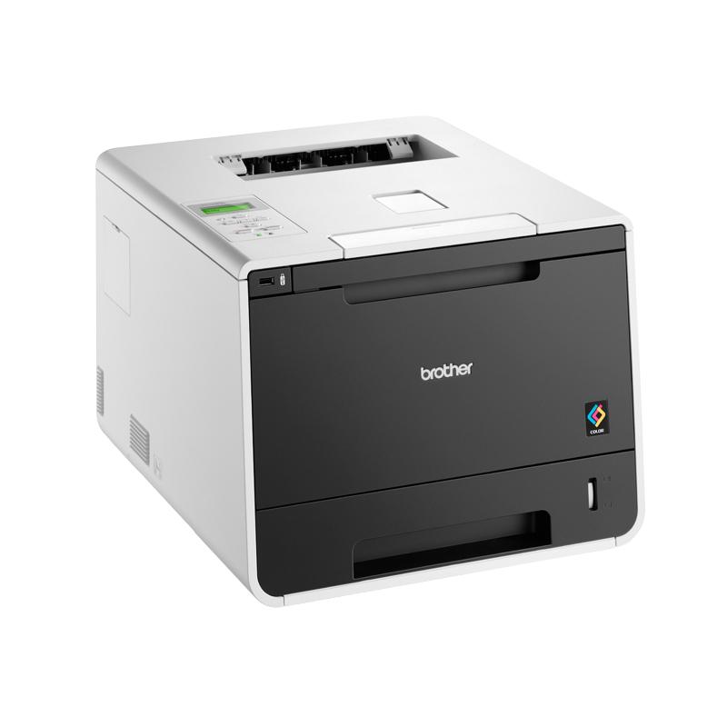 BROTHER tiskárna color laserová HLL-8350CDW - A4, 30pp, 2400x600, 128M, duplex, PCL6, USB 2.0, WiFi, LAN, 250listů
