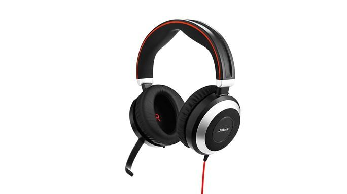 Jabra Evolve 80, Duo, USB/Jack, MS