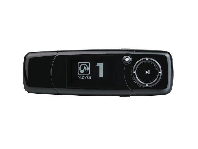 Natec MP20 přehrávač MP3 4GB, černý