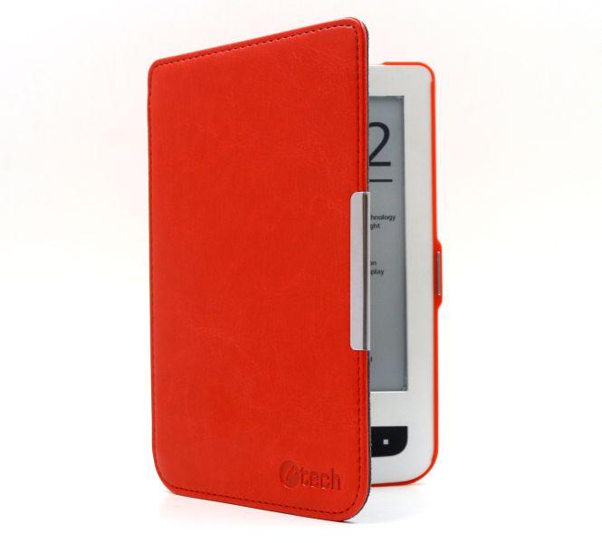 Pouzdro pro Pocketbook 614/624/626, hardcover, PBC-03, červené