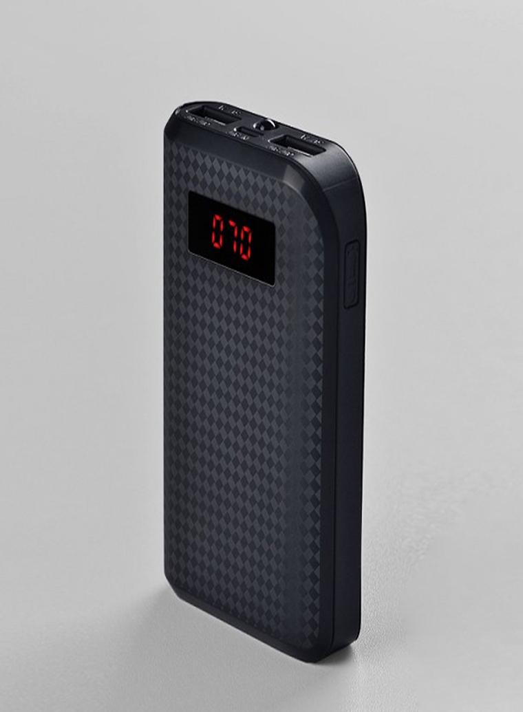 REMAX PowerBank 10000 mAh, černá barva