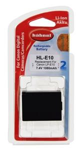 Hähnel HL-E10 - Canon LP-E10 - 7.4V 1080mAh 8Wh