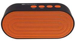 CANYON bezdrátový reproduktor , Bluetooth V4.2 vstup 3,5mm AUX, slot na microSD kartu a USB , oranžový