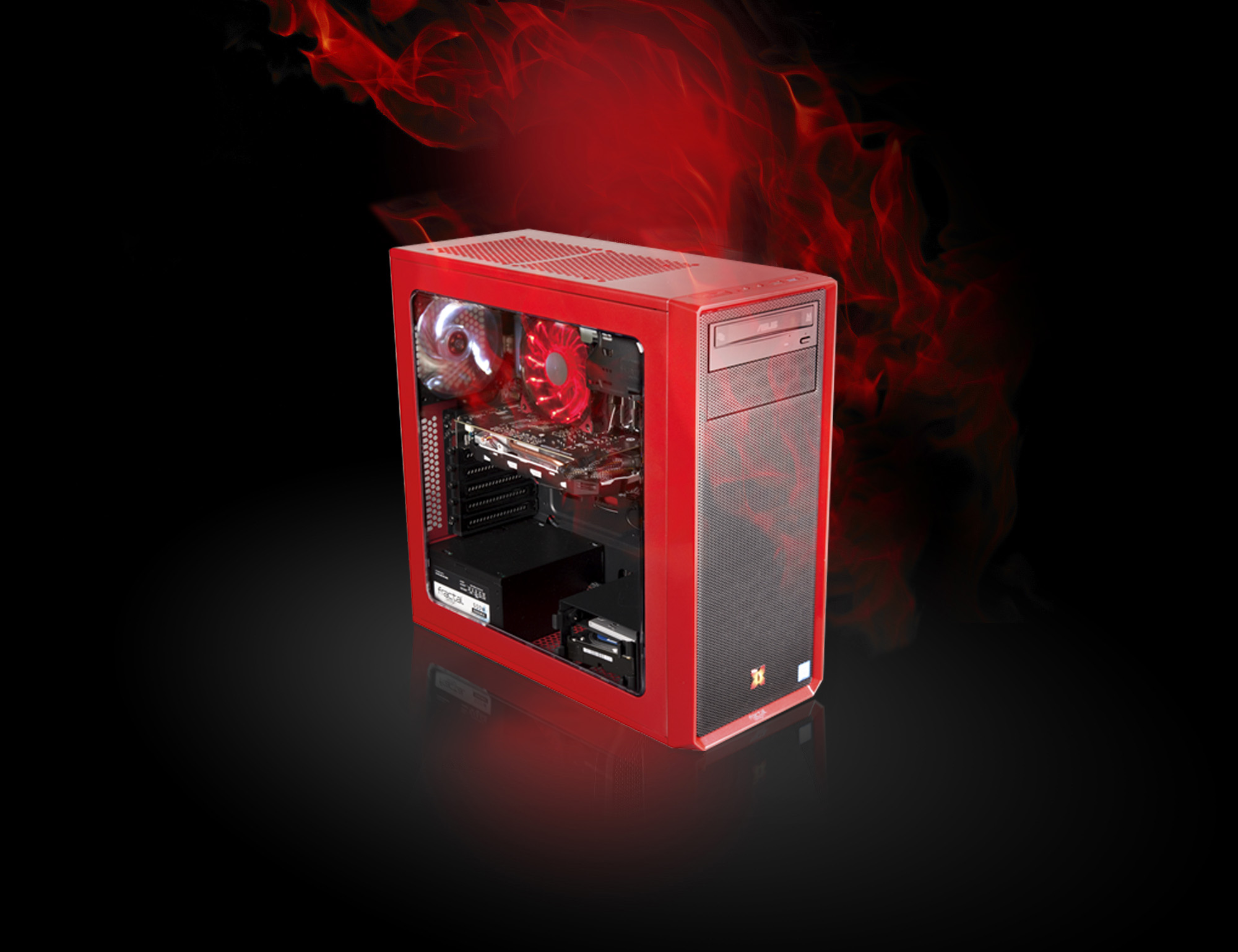 X-DIABLO Gamer_3008_RED