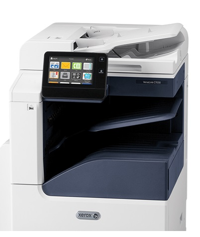 Xerox VersaLink C70xx Duplex Copy/print/Scan PCL5c/6 DADF 3 Trays Total 1140 Sheets, Stand