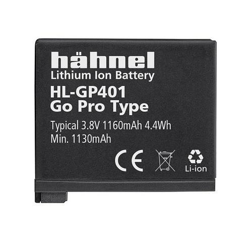 Hähnel HL-GP401 - GoPro AHDBT-401 1160mAh, 3.8V, 4.4 Wh