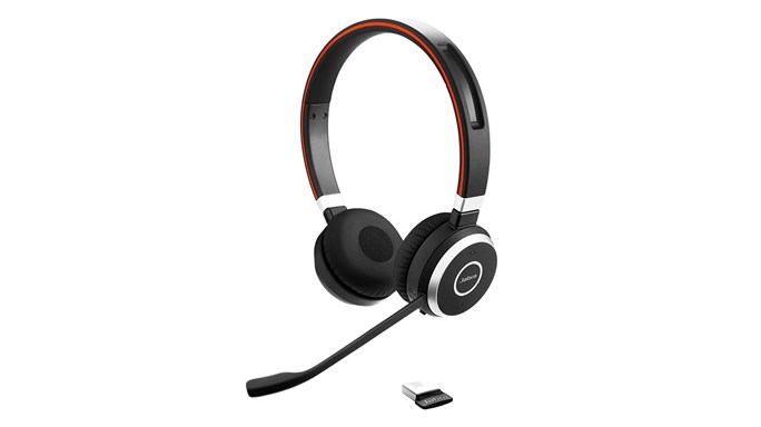 Jabra Evolve 65, duo, USB-BT