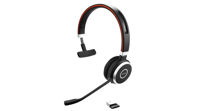 Jabra Evolve 65, Mono, USB-BT