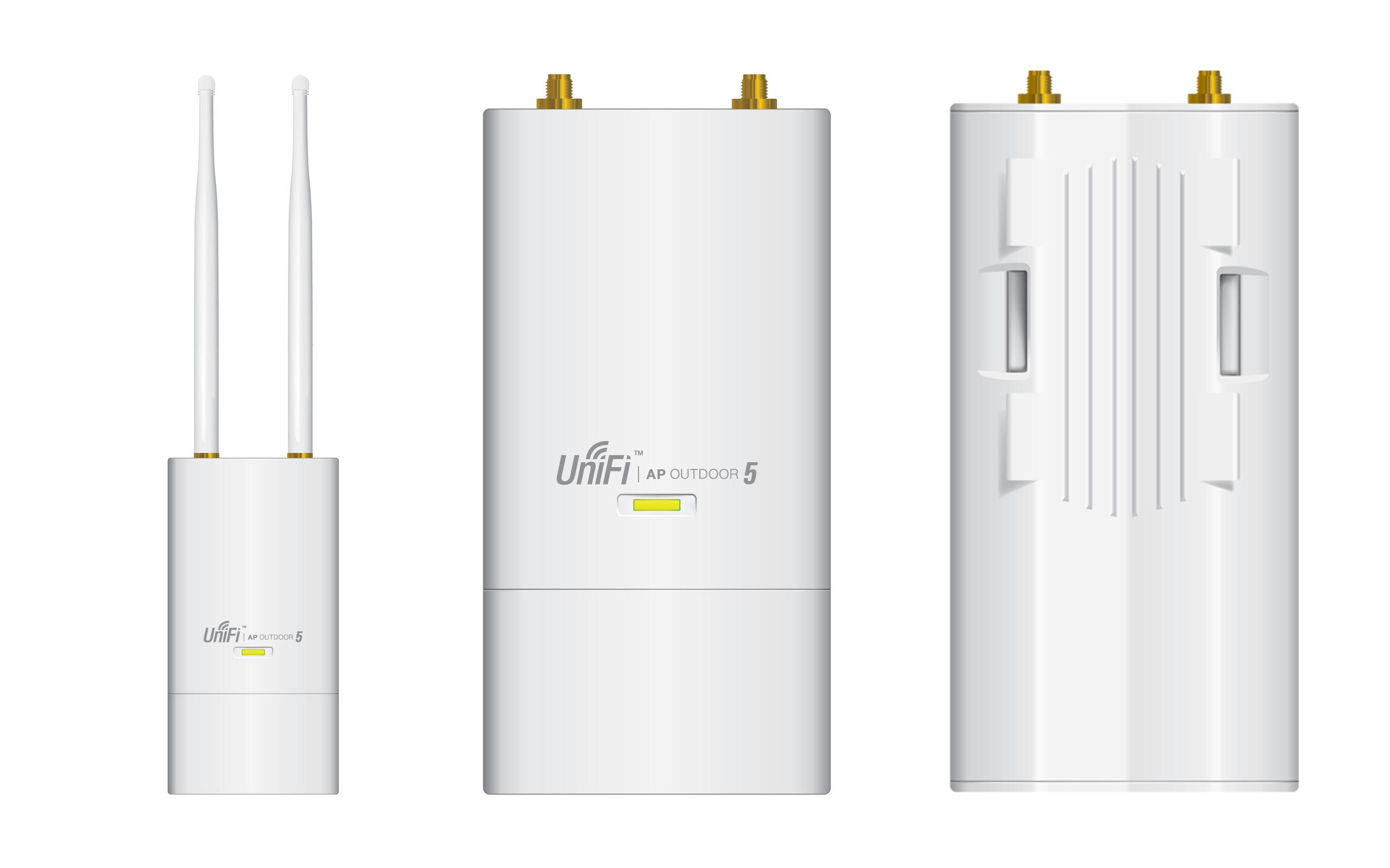 Ubiquiti UniFi AP Outdoor-5, venkovní, 5GHz, 2x2 MIMO, 2x RSMA
