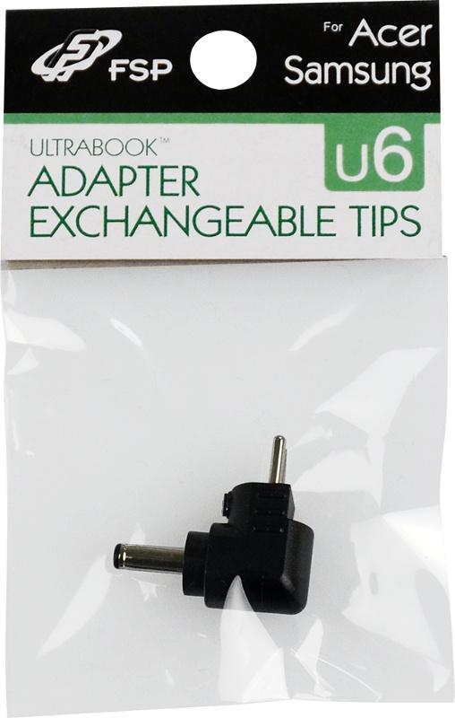 Vyměnitelná koncovka pro adaptéry FSP - č. U6