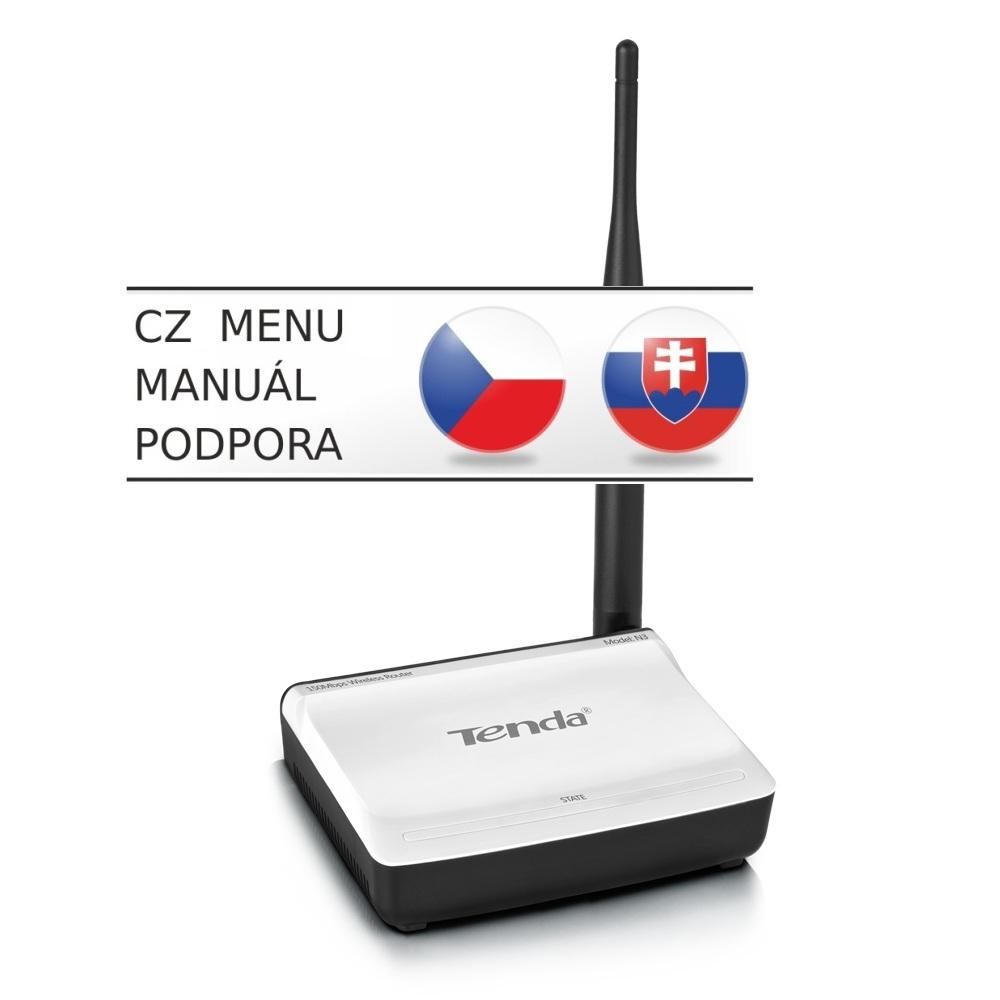Tenda N3 WiFi-N Router,1xWAN, 1xLAN,1xFix.Ant.5dBi