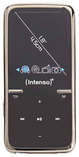 Intenso Video Scooter 1,8 8GB black