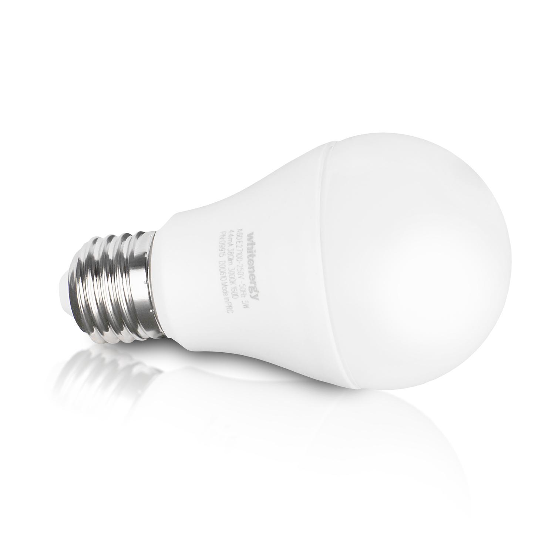 WE LED žárovka SMD2835 A60 E27 5W bílá mléčná