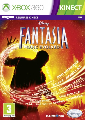 X360 - Disney Fantasia: Music Evolved
