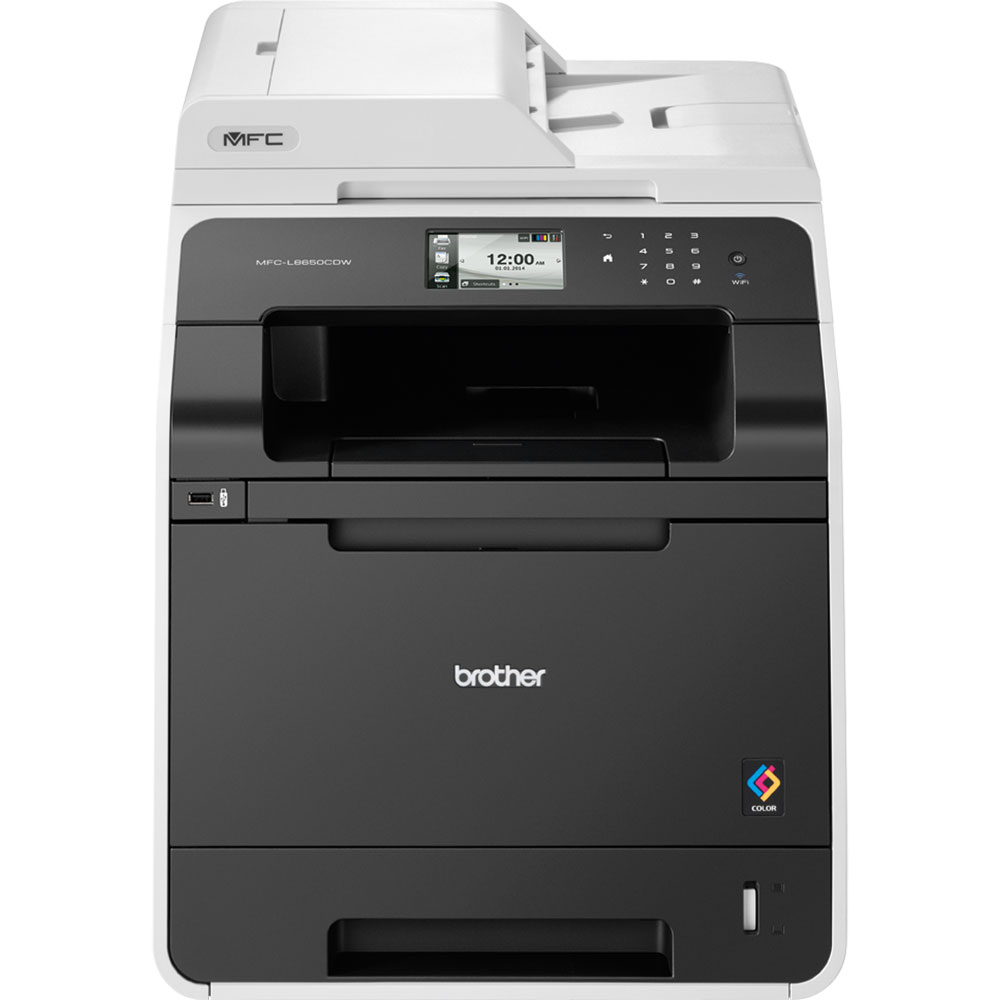 BROTHER multifunkce color laserová MFC-L8650CDW - A4, 28ppm, 256MB, 2400x600, PCL, duplex, LAN USB WiFi 250listů, 35ADF