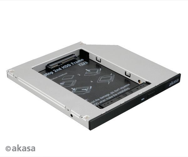 "AKASA redukce pro 2,5"" HDD místo slim SATA v NB"